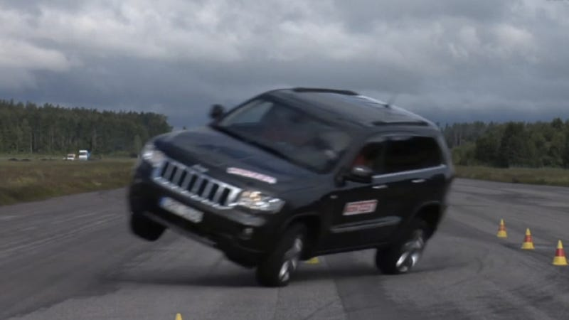 Illustration for article titled Can The 2014 Jeep Grand Cherokee Pass The Infamous Moose Test?