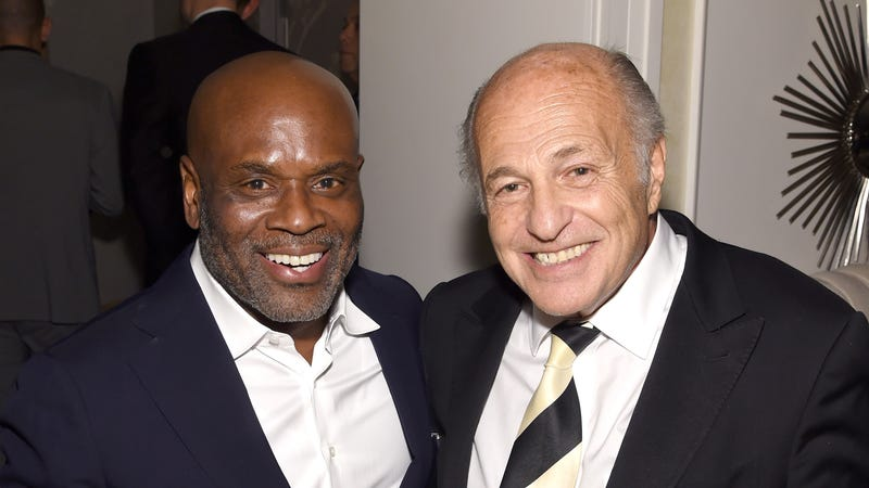 L.A. Reid (Left), Doug Morris (Right) Via Larry Busacca/Getty Images for Sony Music Entertainment