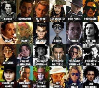 The Many Hot Faces Of Johnny Depp