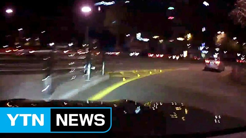 Heres Dashcam Footage From Jung Ho Kangs Alleged DUI Crash