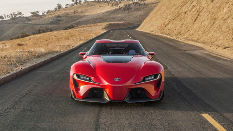 Illustration for article titled The Toyota FT-1 Is Fantastic, Here's More Proof