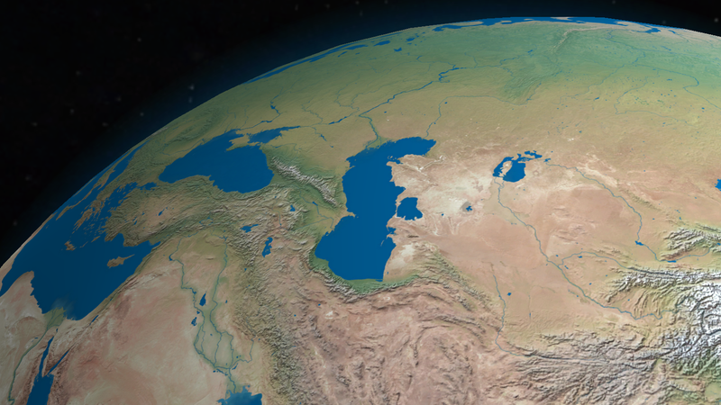 World Map Caspian Sea.Scientists Think They Know Why The Caspian Sea Is Shrinking