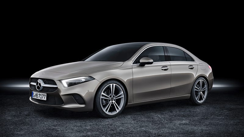 The 2019 Mercedes A Class Is A Great Looking Little Sedan That S New