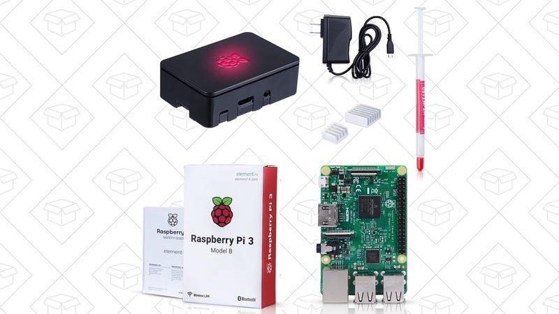 Raspberry Pi 3 Model B, $37 with code 3Z4HRQXZ