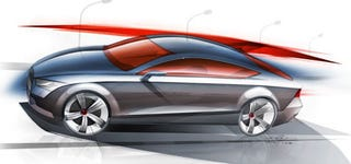 Illustration for article titled Audi A7 Concept To See Detroit Auto Show Reveal