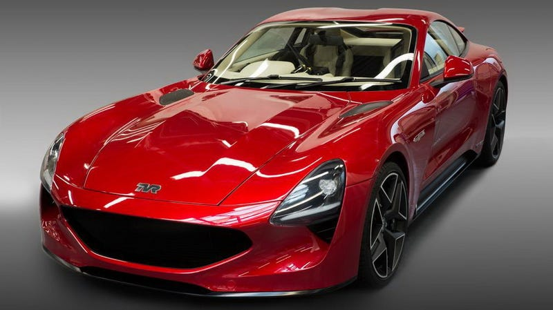 Illustration for article titled The New TVR Griffith Has Been Delayed, But It's Definitely Coming