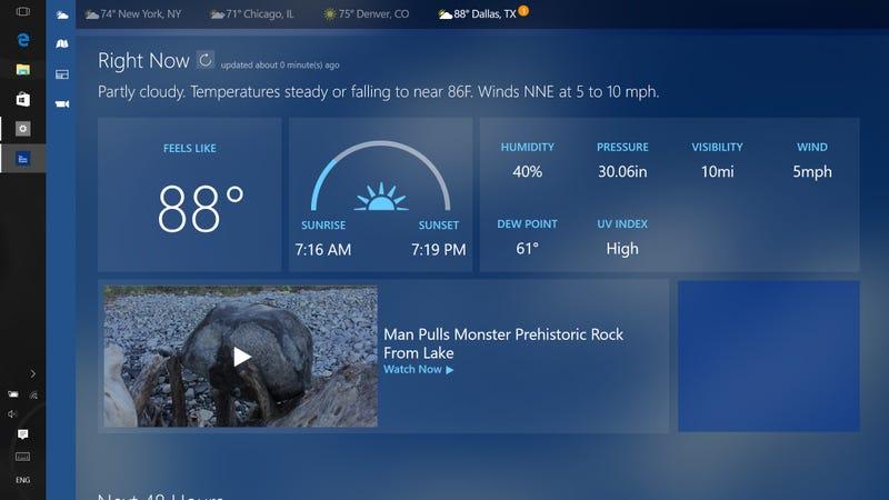 the best desktop weather apps