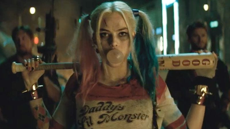 Margot Robbie as Harley Quinn in Suicide Squad (2016)