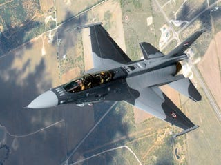 Illustration for article titled Iraq's F-16s Have A Cool Paint Job But Antiquated Weapons