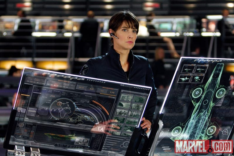 Illustration for article titled First fantastic look at The Avengers' new S.H.I.E.L.D. Agent, Maria Hill