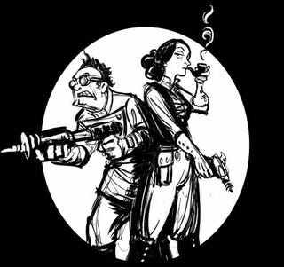 Illustration for article titled Babbage and Lovelace Fight Crime with the Power of Math