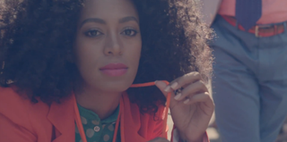 """Solange in her video for """"Losing You"""" (Terrible Records via Chart Attack)"""