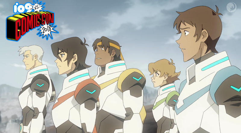 Illustration for article titled The First Voltron Season Seven Trailer Is the Beginning of the Legendary Defender's End