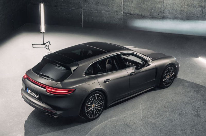 Illustration for article titled Hell Yes The Porsche Panamera Sport Turismo Is Coming To America