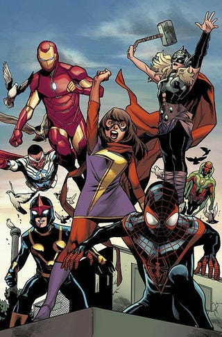 Illustration for article titled All-New All-Different Avengers