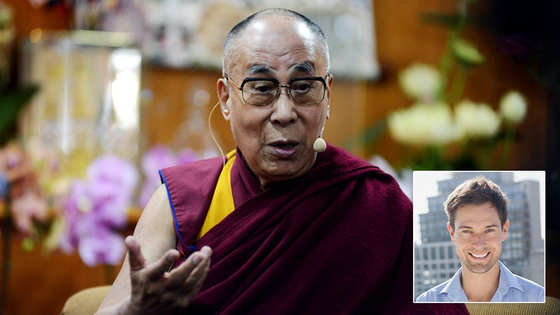 Efficiency Win! The Dalai Lama Has Announced That His Dentist's 30-Year-Old Son Is The Reincarnation of Him And Should Just Take Over As Dalai Lama After He Dies
