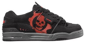 Illustration for article titled Gears of War the Skate Shoe