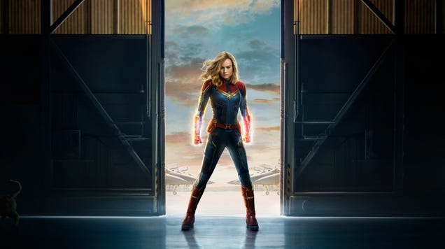 Captain Marvel Is Crash Landing Into Disney s California Adventure Park