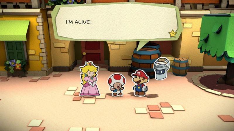 Screenshot: Paper Mario: Color Splash/Nintendo