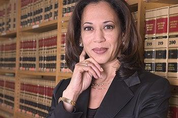 California's new Attorney General Kamala Harris