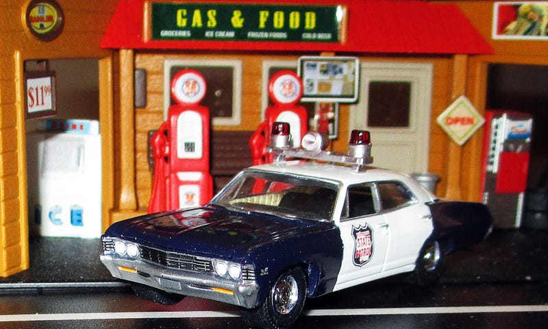 Illustration for article titled Saturday Night Special: Classic Cop Cruisers
