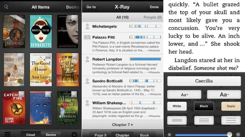 Illustration for article titled Amazon's Updated Kindle App Is a Tiny F U to Apple's App Store
