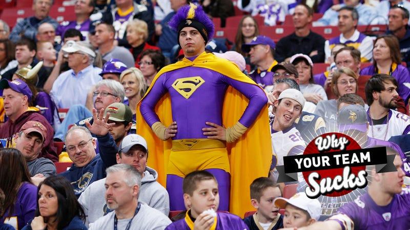 Why Your Team Sucks 2013: Minnesota Vikings