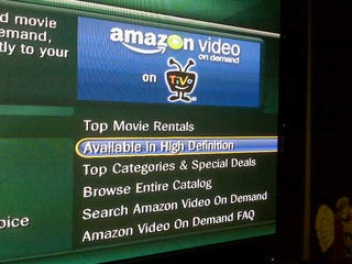 Illustration for article titled Amazon HD Streaming Spotted on TiVo