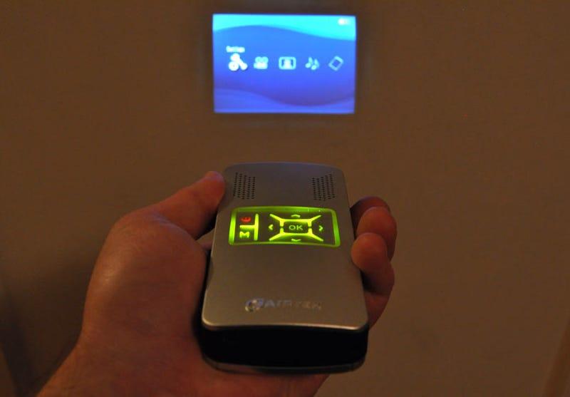 Illustration for article titled Aiptek PocketCinema V10 Pico Projector Review