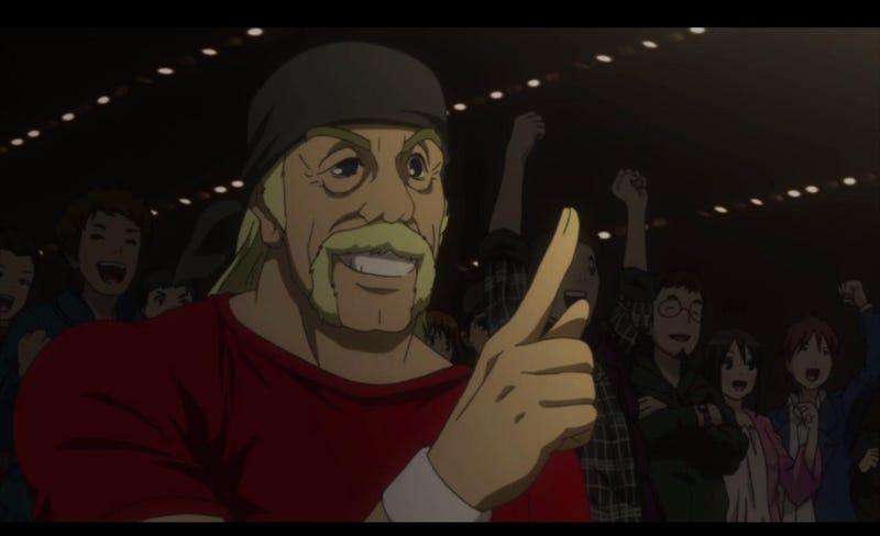 Illustration for article titled Anime Hulk Hogan!!!