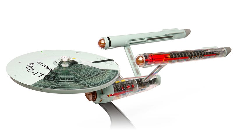 Illustration for article titled Cut-Way Enterprise Model Makes It Way Easier To Build Your Own Starship