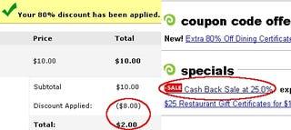 Illustration for article titled Get $25 Restaurant Gift Cards for $1.50