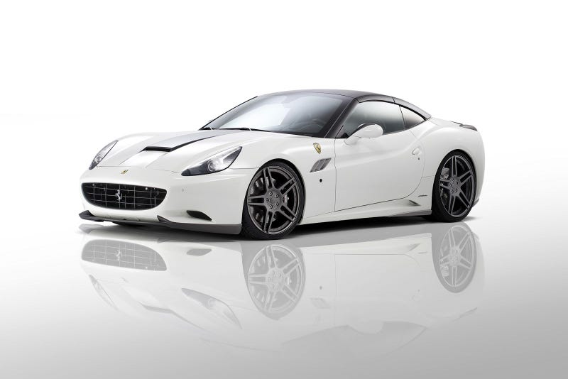 Illustration for article titled Novitec Rosso messes with the wife's Ferrari California