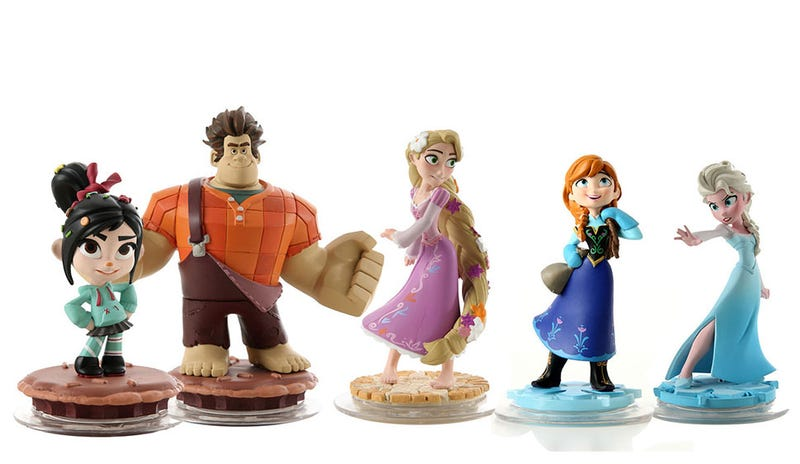 Illustration for article titled Wreck-It Ralph, Rapunzel and Frozen Disney Infinity Toys Are Out There