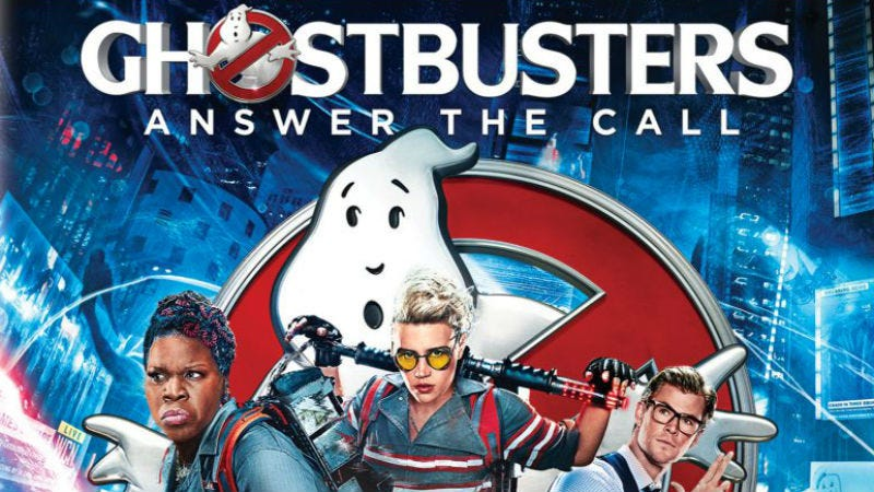 Illustration for article titled Nope, Ghostbusters Did Not Suddenly Get a New Title