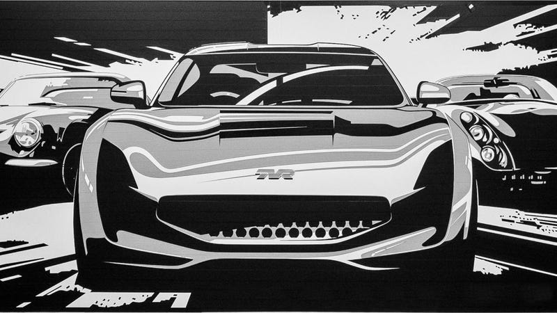 Illustration for article titled New TVR official sketch