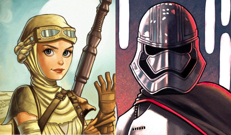 Illustration for article titled See the Heroines of Star Wars In All Their Animated Glory