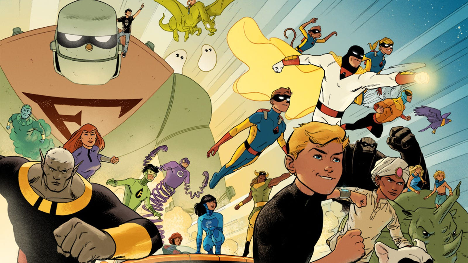 Future Quest Kicks Off the Cartoon Crossover My Childhood Cried Out For