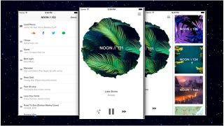 Illustration for article titled Noon Pacific for iPhone Adds Full Playlists, Unlimited Skips, Goes Free