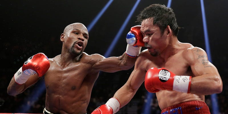 Illustration for article titled Deadcast Counterpoint: Floyd Mayweather Is NOT A Coward