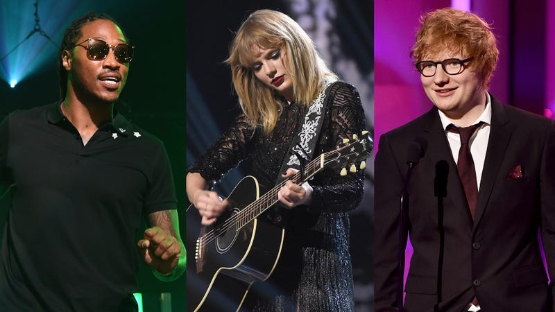 via Paras Griffin/Getty Images for Atlantic Records, Kevin Winter/Getty Images for DIRECTV, Frazer Harrison/Getty Images