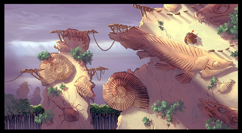 Illustration for article titled Donkey Kong Country Returns Concept Art
