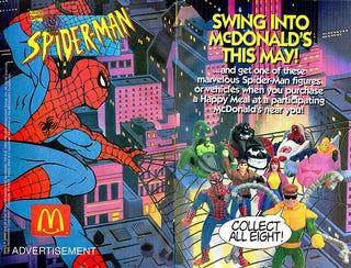 Illustration for article titled Spider-Man's Sponsorship Deal Goes Wrong
