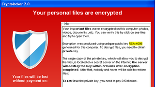 Illustration for article titled Decryptolocker Saves You From the Popular Cryptolocker Ransomware