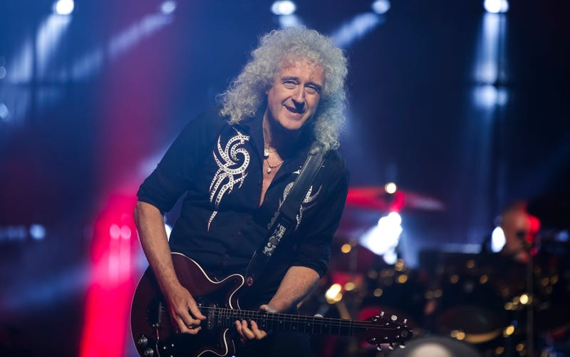 Brian May, guitarrista de Queen y astrofísico.