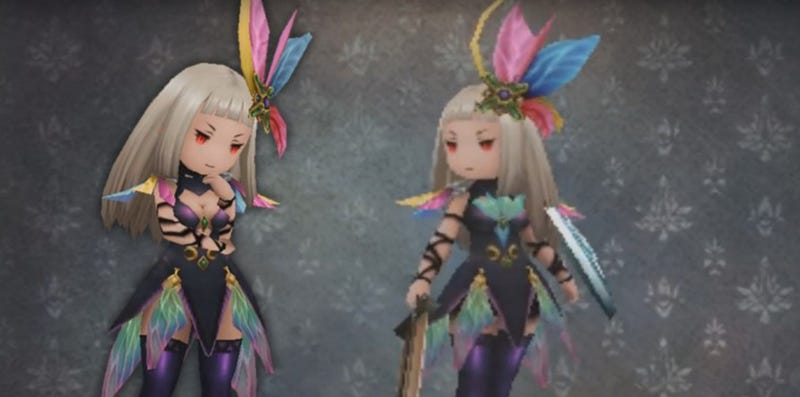 Illustration for article titled Dozens More Costumes Found to Be Censored in Bravely Second [Update 2] - Side Quests Outcome Changed/Outcomes Removed