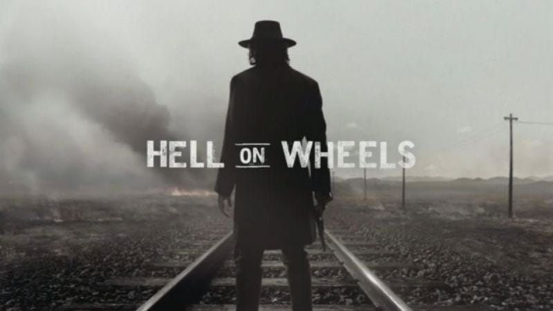 Illustration for article titled America's love affair with the locomotive continues as AMC renews Hell On Wheels for another season