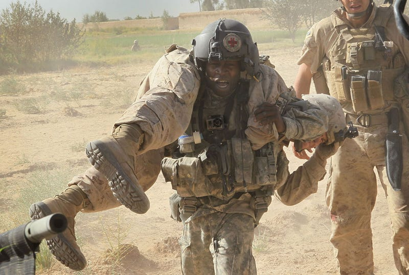 """Illustration for article titled Army Medic Puts the """"Action"""" in """"Action Camera"""" [Updated]"""