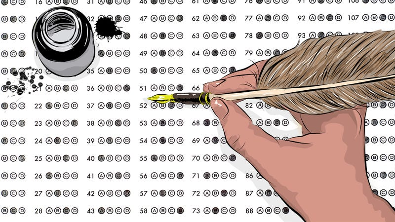 Illustration for article titled What Happens When A 38-Year-Old Man Takes An AP History Test?