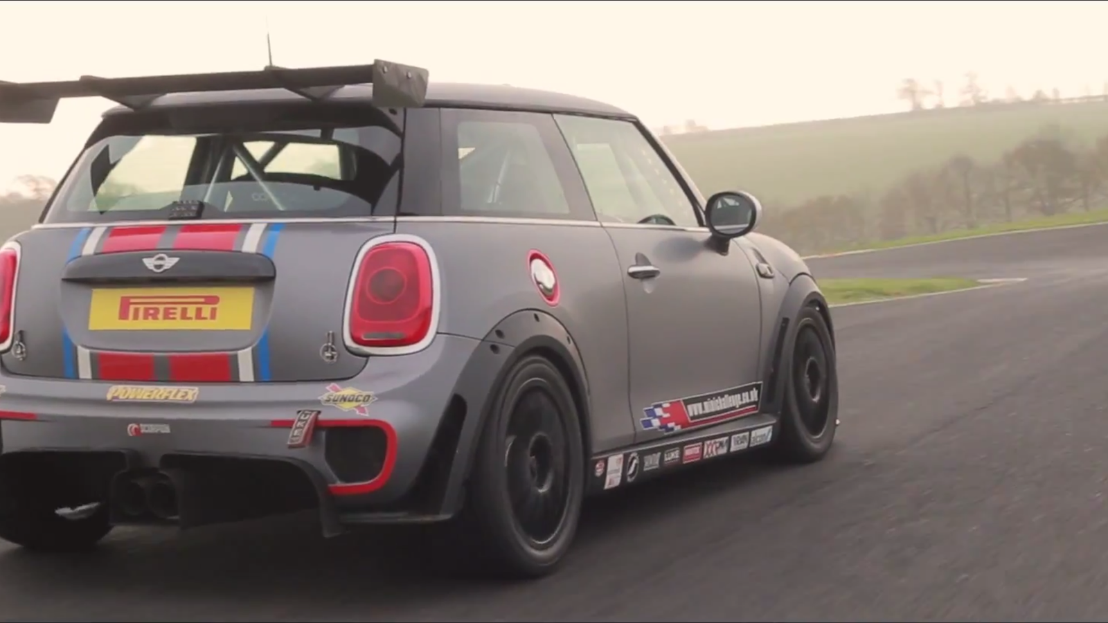 This Race Car Is The Crazy Mini Cooper You Don T Invite To Parties